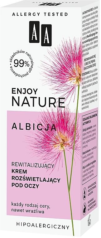 Revitalisierende und aufhellende Augencreme - AA Enjoy Nature Revitalising Brightening Eye Cream — Bild N4