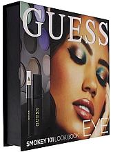 Düfte, Parfümerie und Kosmetik Make-up Set (Wimperntusche 4ml + Kajalstift 0.5g + Lidschatten 12x 1,96g) - Guess Beauty Smokey 101 Eye Lookbook