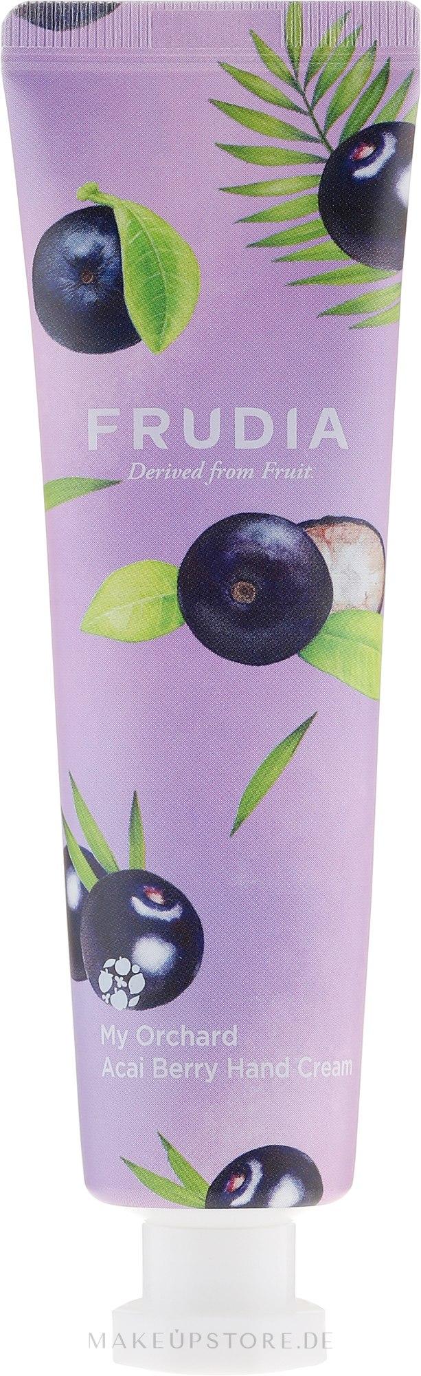 Feuchtigkeitsspendende Handcreme mit Acai-Beeren - Frudia My Orchard Acai Berry Hand Cream — Bild 30 ml