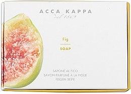 Düfte, Parfümerie und Kosmetik Parfümierte Körperseife mit Feigen - Acca Kappa Fig