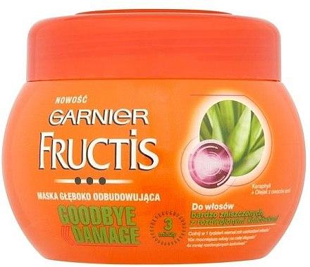 Haarmaske für geschädigtes Haar mit Amla-Öl und Keraphyll - Garnier Fructis Good Bye Damage Hair Mask — Bild N2