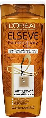 Nährendes Shampoo mit Kokosnussöl - L'Oreal Paris Elseve Extraordinary Oil Coconut Shampoo — Bild N1