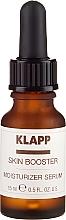 Düfte, Parfümerie und Kosmetik Feuchtigkeitsspendendes Gesichtsserum - Klapp Skin Booster Intensive Moisturizer Serum