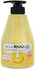 Düfte, Parfümerie und Kosmetik Körperlotion mit Banenenextrakt - Welcos Banana Milk Skin drinks Body Lotion