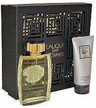 Düfte, Parfümerie und Kosmetik Lalique Lalique Pour Homme - Duftset (Eau de Parfum/125ml + Duschgel/100ml)