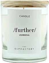 Düfte, Parfümerie und Kosmetik Duftkerze im Glas Further Verbena - Ambientair The Olphactory Further Verbena