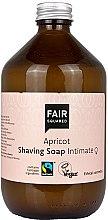 Düfte, Parfümerie und Kosmetik Rasierseife für den Intimbereich mit Aprikose - Fair Squared Apricot Shaving Soap Intimate