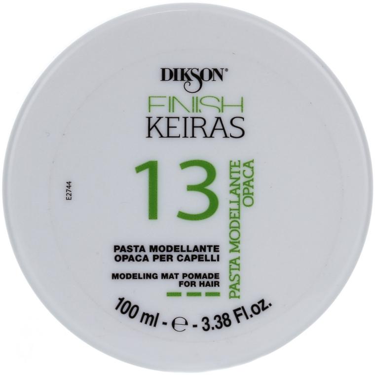 Modellierende Haarpaste mit Matt-Effekt - Dikson Finish Keiras Pasta Modellante Opaca 13 — Bild N1