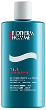 Mattierende Feuchtigkeitspflege mit französischen Meersalzen - Biotherm Homme T-Pur Anti & Oil Wet Lotion — Bild N2
