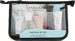Düfte, Parfümerie und Kosmetik Reise-Gesichtspflegeset - Madara Cosmetics Fab Skin Jet Set(Mizellenwasser 50ml + Gesichtspeeling 12,5 ml + Gesichtsmaske 12,5 ml + Gesichtscreme 20ml + Gesichtscreme 15ml)