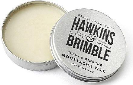 Schnurrbartwachs - Hawkins & Brimble Elemi & Ginseng Moustache Wax — Bild N2