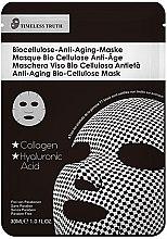 Düfte, Parfümerie und Kosmetik Anti-Aging Gesichtsmaske - Timeless Truth Anti-Aging Bio-Cellulose Mask