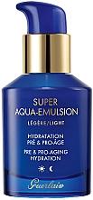 Düfte, Parfümerie und Kosmetik Leichte feuchtigkeitsspendende Anti-Aging Gesichtsemulsion - Guerlain Super Aqua Light Emulsion