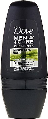 Deo Roll-on Antitranspirant - Dove Men + Care Elements Minerals+Sage Rol On — Bild N1