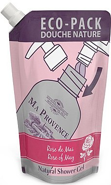 Duschgel Mai-Rose - Ma Provence Shower Gel Rose Of May (Doypack) — Bild N1