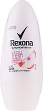 Düfte, Parfümerie und Kosmetik Deo Roll-on - Rexona Stay Fresh Deo Roll-On White Flowers