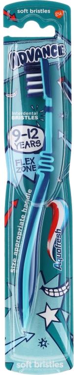 Kinderzahnbürste weich 9-12 Jahre dunkelblau - Aquafresh Advance — Bild N1