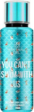 Material Girl You Can´t Swim With Us - Körperspray Green Mandarin & Waterlily — Bild N1