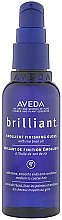 Düfte, Parfümerie und Kosmetik Finish-Spray für Glanz und glatte Haarspritzen mit Reiskleieöl - Aveda Brilliant Emollient Finishing Gloss