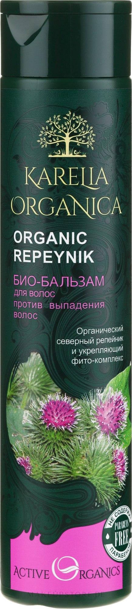 Bio Haarspülung gegen Haarausfall mit Klettenextrakt - Fratti HB Karelia Organica — Bild 310 ml