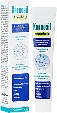 Gesichtsgel mit Silberionen und Carnosin für delikate und zu Akne neigende Haut - Deep Pharma Karnosil Acnohelp — Bild N1