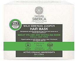 Düfte, Parfümerie und Kosmetik Haarmaske für mehr Volumen und Glanz mit Wacholder - Natura Siberica Cosmos Natural