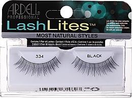 Düfte, Parfümerie und Kosmetik Künstliche Wimpern - Ardell LashLites Black Lightweight And Invisible Bands 334