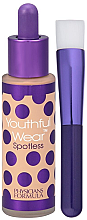 Düfte, Parfümerie und Kosmetik Foundation mit Foundationpinsel - Physicians Formula Youthful Wear Spotless Foundation SPF 15