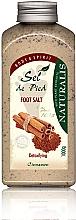 Detox Fußbadesalz mit Zimt - Naturalis Sep de Pied Cinnamon Foot Salt — Bild N1