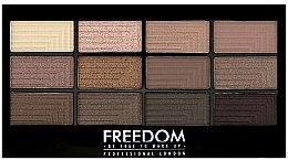 Düfte, Parfümerie und Kosmetik Lidschatten-Palette - Freedom Makeup London Pro Eyeshadow Palette