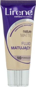 Mattierende Foundation - Lirene Nature Matte Foundation — Bild 10 - Porcelanowy