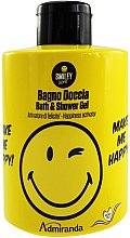 Düfte, Parfümerie und Kosmetik Duschgel - Admiranda Smiley World Bath & Shower Gel Make Me Happy