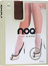 Düfte, Parfümerie und Kosmetik Kurze Damensocken Pepe 15 Den Beige 2 Paare - Knittex