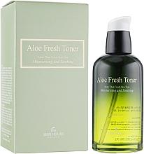 Düfte, Parfümerie und Kosmetik Feuchtigkeitsspendendes und beruhigendes Gesichtstonikum mit Aloe Vera-Extrakt - The Skin House Aloe Fresh Toner