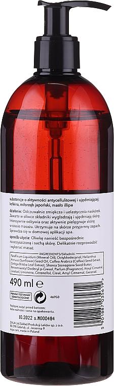 Straffendes Anti-Cellulite Massageöl für den Körper mit Mangoduft - Ziaja Baltic Home Spa FIT Mango Body Massage Oil — Bild N2