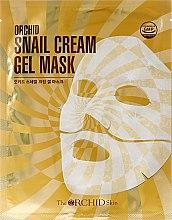 Düfte, Parfümerie und Kosmetik Hydrogel Gesichtsmaske mit Schneckenschleim-Extrakt - The Orchid Skin Snail Cream Gel Mask