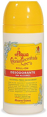 Alvarez Gomez Agua De Colonia Concentrada - Deo Roll-on  — Bild N1