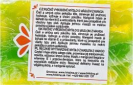 Düfte, Parfümerie und Kosmetik Handgemachte Naturseife mit Mangobutter - Hristina Cosmetics Soap