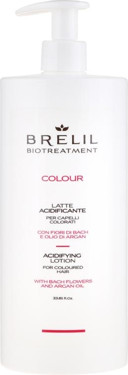 Oxidierende Lotion für gefärbtes Haar mit Arganöl - Brelil Bio Treatment Colour Lotion — Bild N1