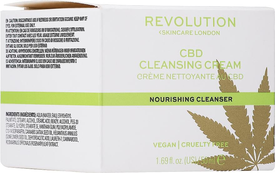 Gesichtsreinigungscreme - Revolution Skincare CBD Cleansing Cream — Bild N1