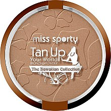 Düfte, Parfümerie und Kosmetik Bronzierpuder - Miss Sporty Tan Up Your world Bronzer