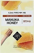 Düfte, Parfümerie und Kosmetik Feuchtigkeitsspendende Gesichtsmaske mit Manuka-Honig-Extrakt - Etude House Therapy Air Mask Manuka Honey