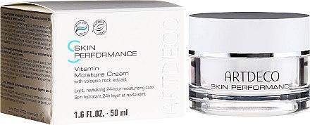 Leichte revitalisierende 24h Feuchtigkeitspflege mit Vulkangestein-Extrakt - Artdeco Pure Minerals Vitamin Moisture Cream — Bild N1