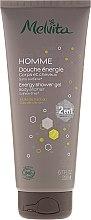 Düfte, Parfümerie und Kosmetik Shampoo & Duschgel 2in1für Männer - Melvita Homme Energy Shower Gel