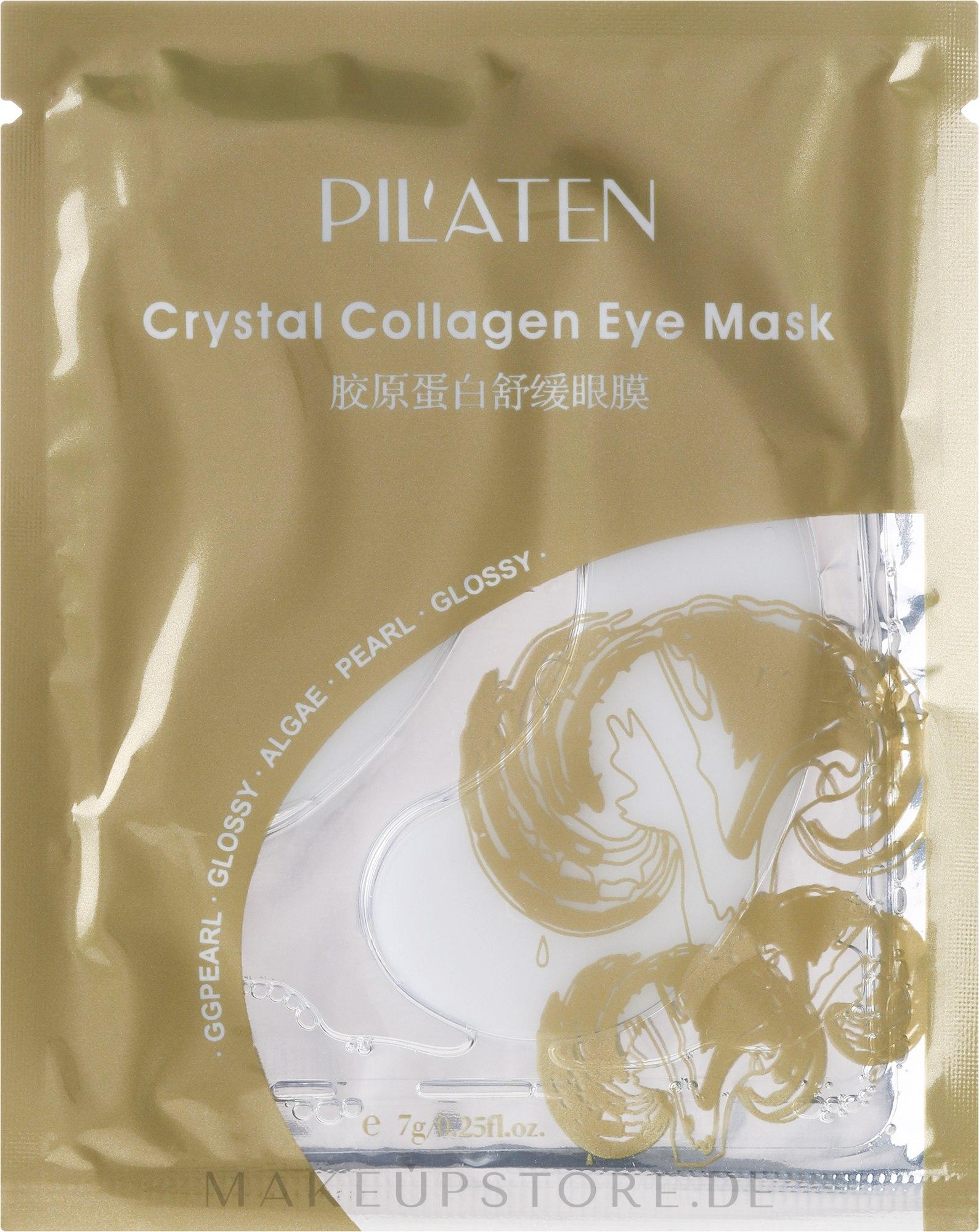 Algenmaske für die Augenpartie mit Kollagen - Pil'aten Crystal Collagen Eye Mask — Bild 7 g