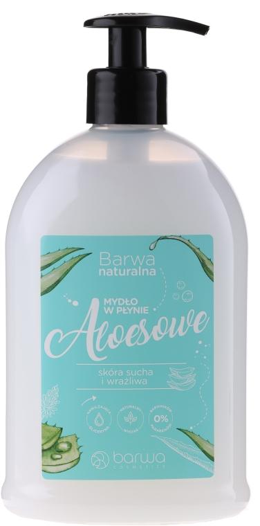 Flüssigseife mit Aloe Vera Extrakt - Barwa Natural Liquid Soap With Aloe Vera — Bild N1