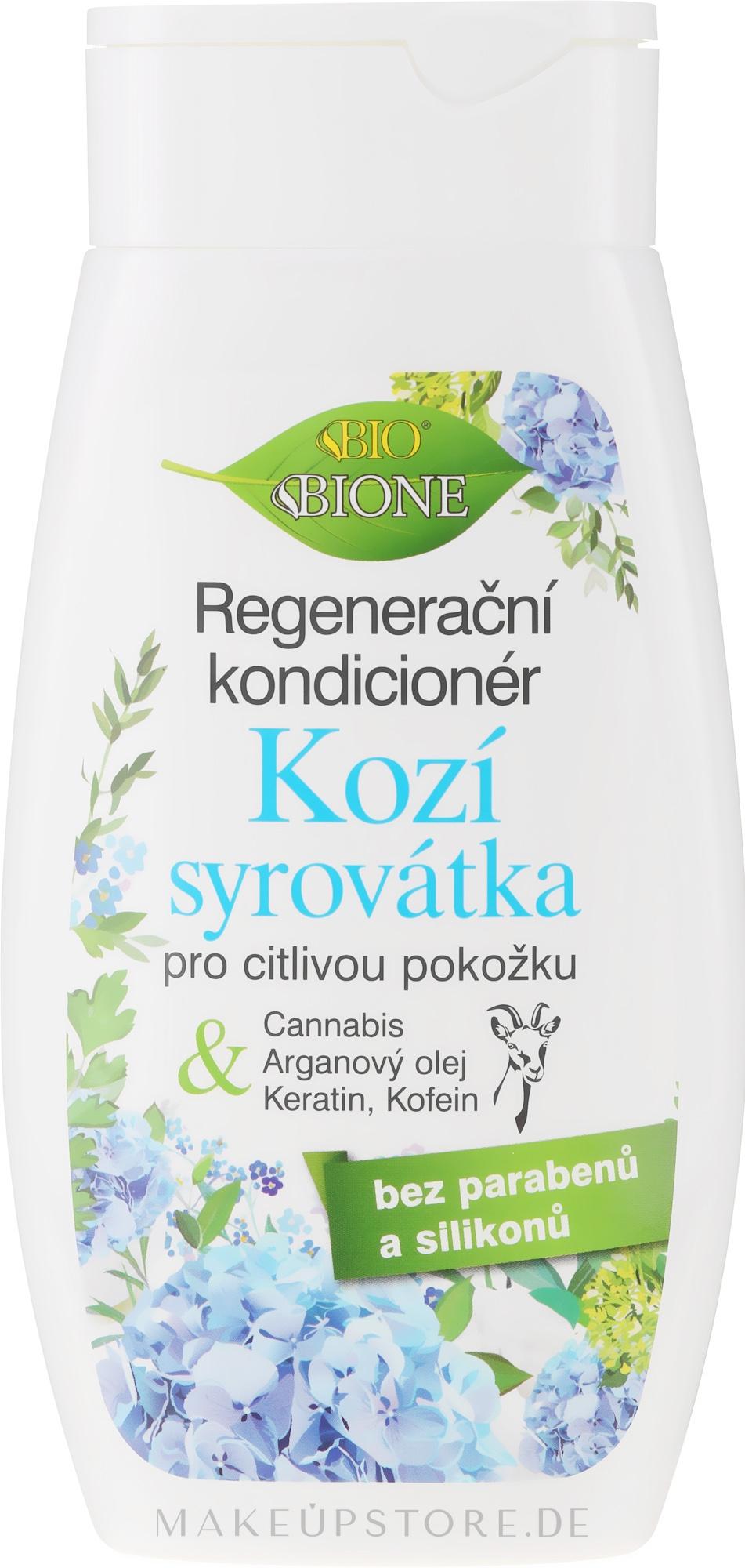 Regenerierende Haarspülung mit Ziegenmilch - Bione Cosmetics Goat Milk Hair Conditioner — Bild 260 ml