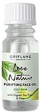 Düfte, Parfümerie und Kosmetik Gesichtsreinigungsöl mit Teebaum und Limette - Oriflame Love Nature Purifyng Face Oil
