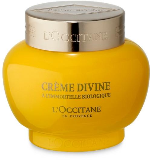 Feuchtigkeitsspendende Anti-Aging Gesichtscreme mit Immortellenöl - L'Occitane Divine Cream — Bild N1