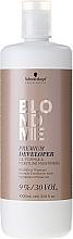 Düfte, Parfümerie und Kosmetik Creme-Oxidationsmittel 9% für blondes Haar - Schwarzkopf Professional Blondme Premium Developer 9%